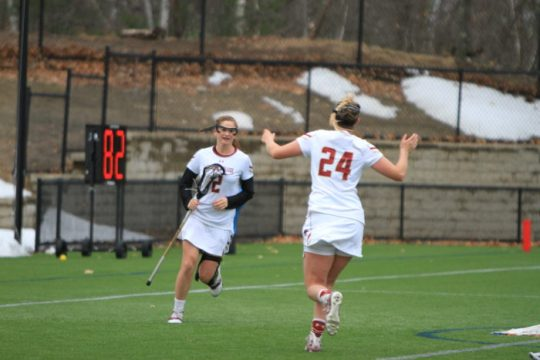 Apuzzo Breaks Pair of Program Records in Win Over Canisius