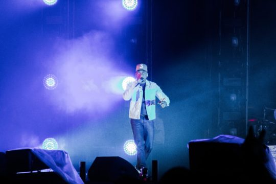Chance the Rapper Emotionally Connects With Fans at Boston Calling