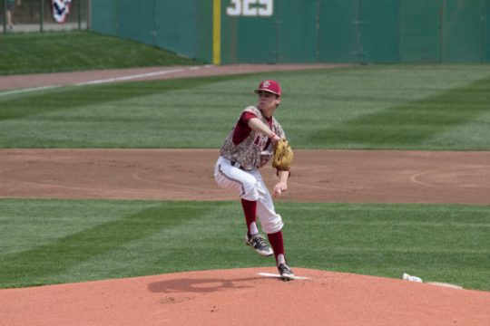 Eagles Steal One Game From No. 17 Demon Deacons