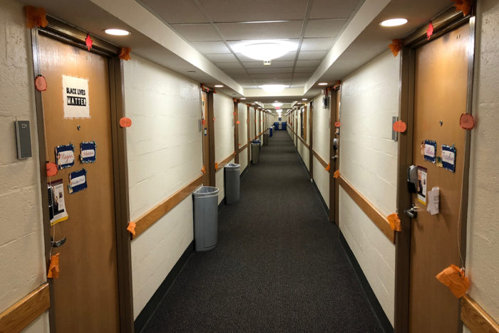 Racist Incidents Reported in Gonzaga Hall
