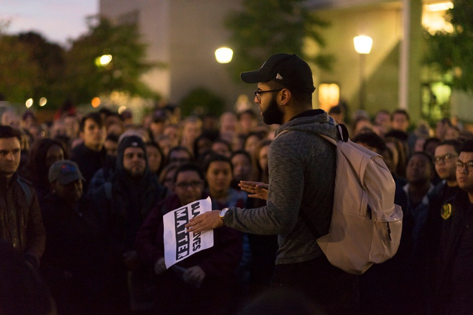 Emotions Run High at Rally as Students Plan 'Silence is Still Violence' March