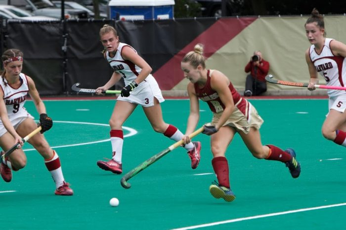 Eagles Topple Crimson in Shootout Victory