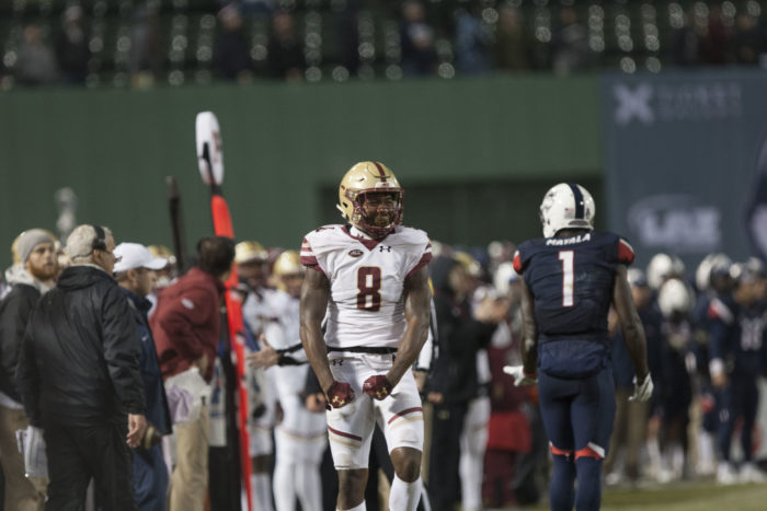 Football Clinches Bowl Eligibility With Win Over UConn