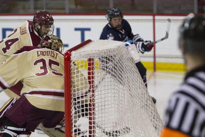 Edquist, BC Record First Shutout of Season Against UConn