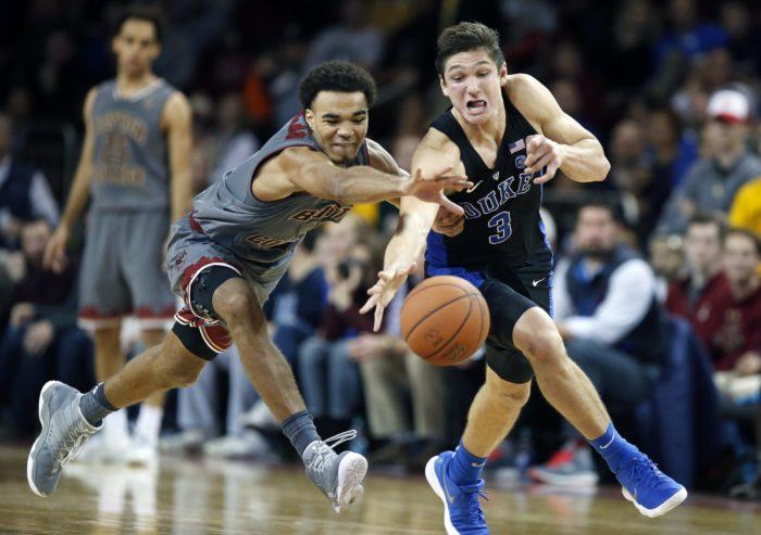 Men's Basketball Upsets No. 1 Duke