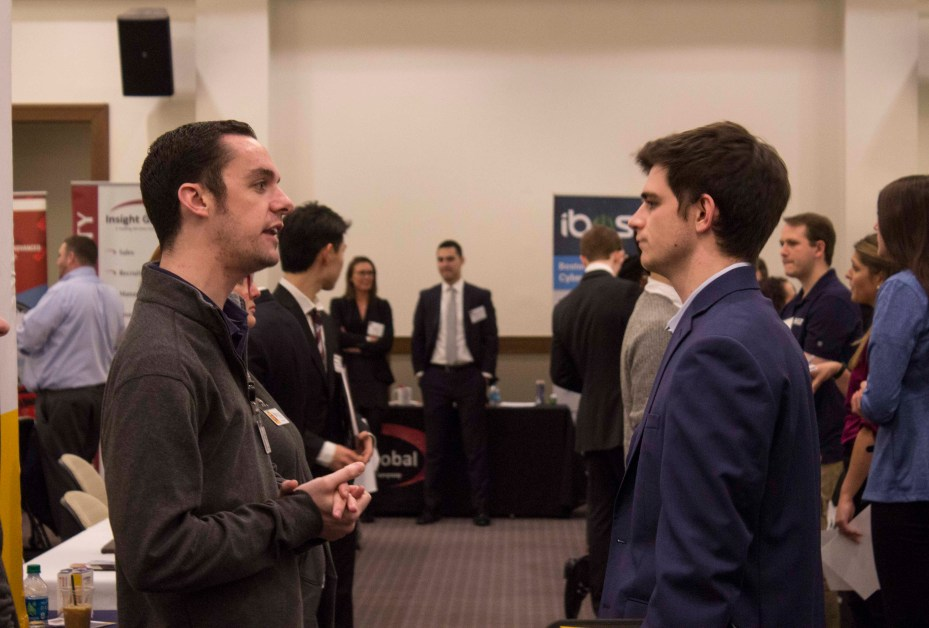 Over 1000 Students Attend Spring Career and Internship Fair, According to Career Center