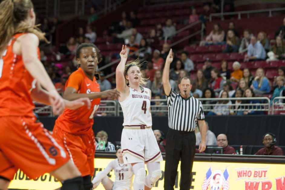 Ortlepp's Career Day Not Enough in Regular Season Finale at Syracuse