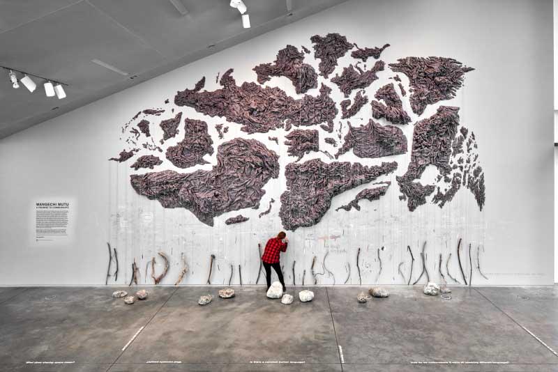 ICA Exhibit Highlights Social Division, Installation as Catalyst