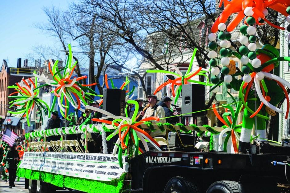 Annual St. Patrick's Day Parade Follows Spirited Route Through South Boston