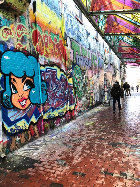 Living on the Edge: My First Experience at Graffiti Alley