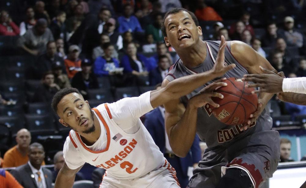Despite BC's Late-Game Run, No. 19 Clemson Prevails in ACC Tournament Quarterfinals