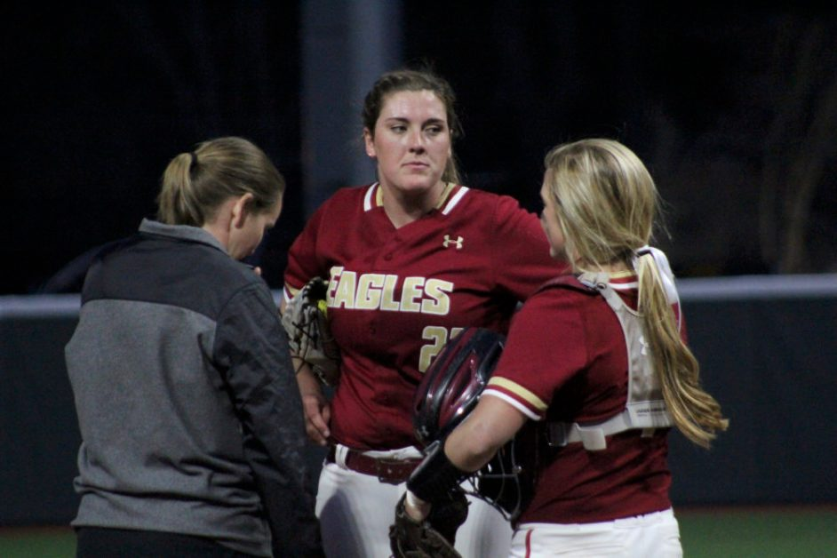Eagles Cool Off, Suffer Series Sweep at the Hands of Louisville