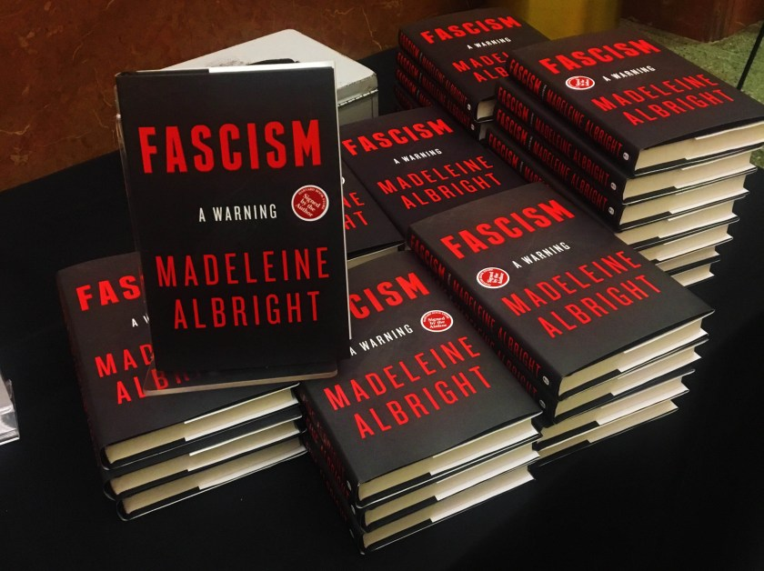 Madeleine Albright Unveils Personal Report on Fascism