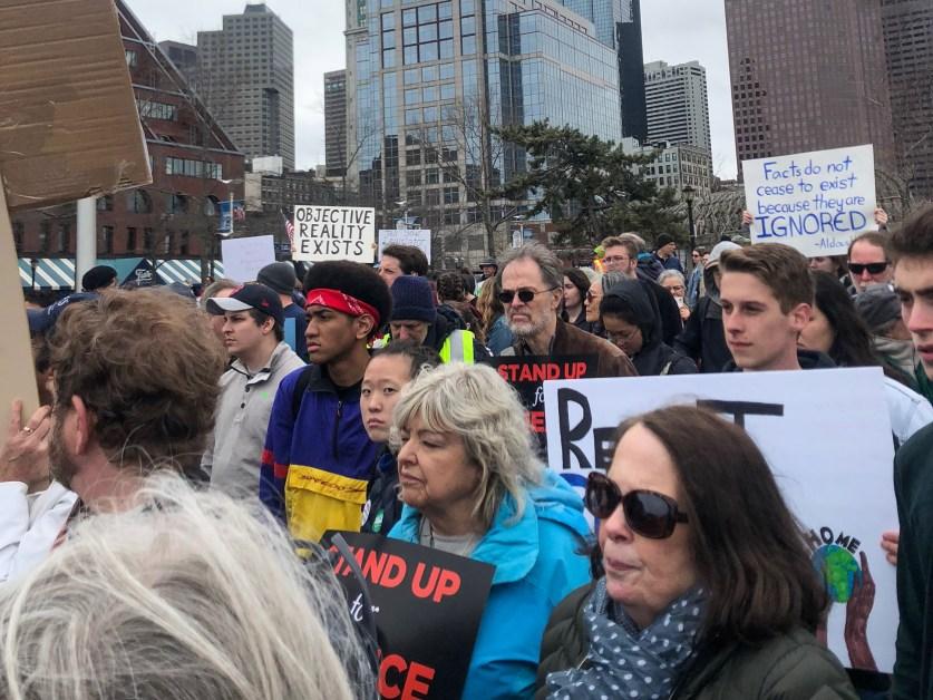 Science Strikes Back: Bostonians Rally for Climate Legislation