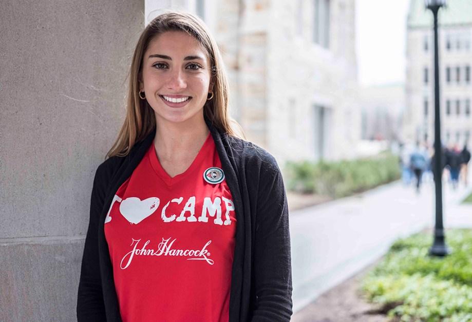 Inspired by Survivors, Bellantonio Competes for Kids' Camp