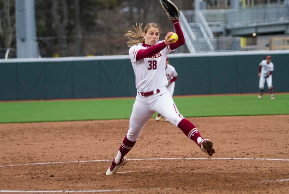 Frei's Three-Hit Shutout Guides Eagles to Program-Record-Breaking 11th-Straight Win