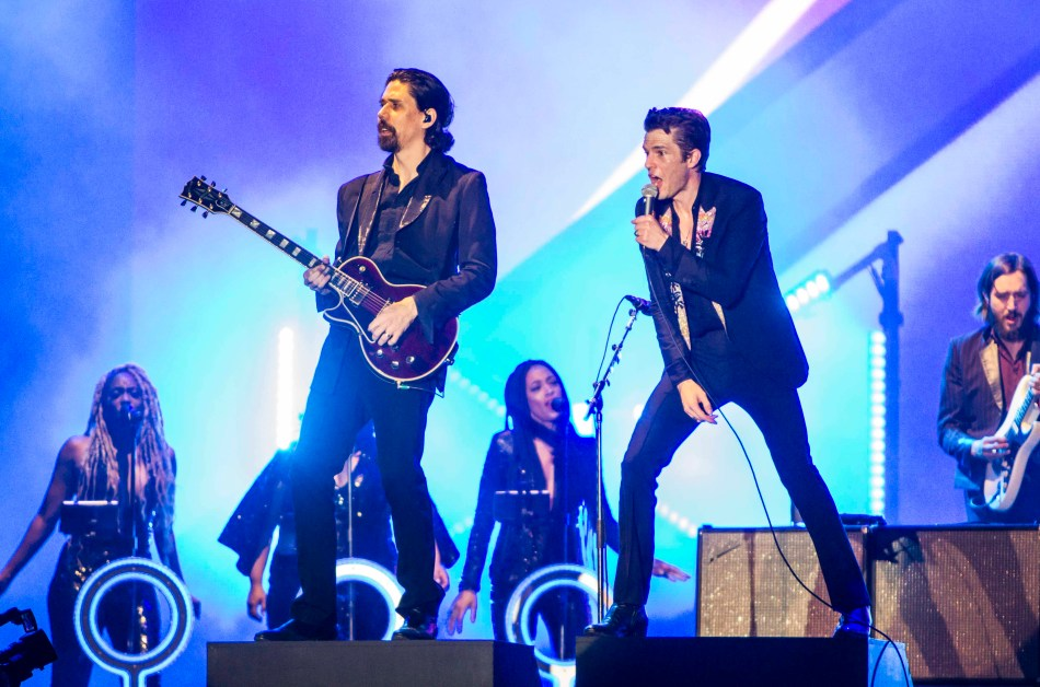 The Killers, Portugal. The Man Shine at Boston Calling Day 1