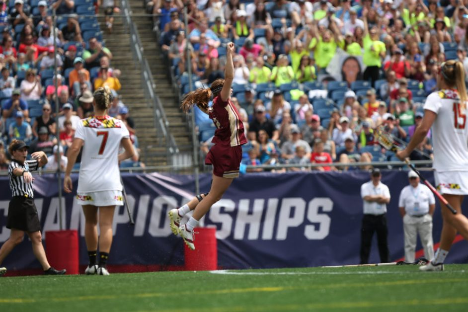 BC Beats Maryland for First Time in Program History, Returns to National Title Game