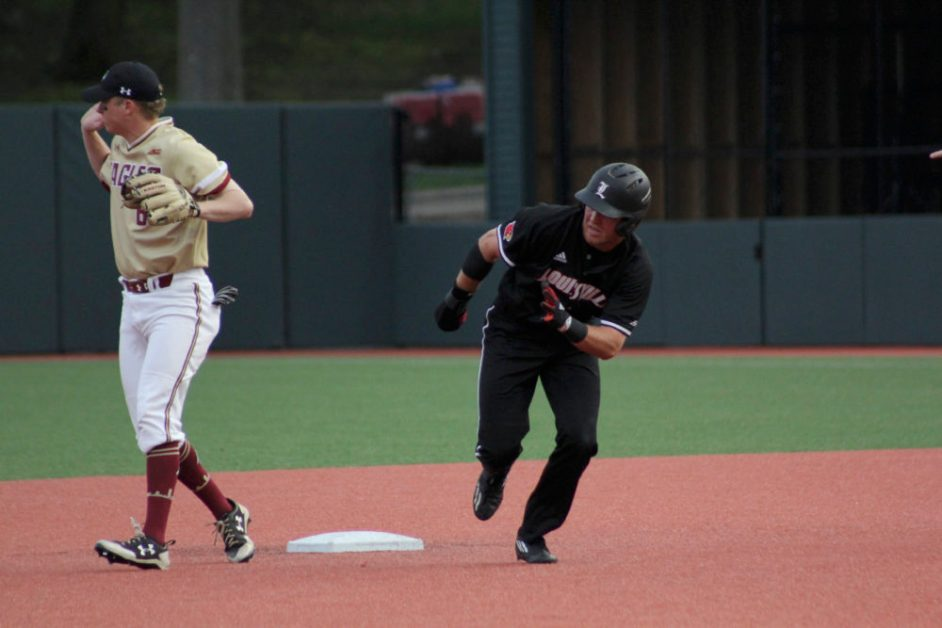 Louisville's Wolf Silences BC Bats in Series-Opening Loss