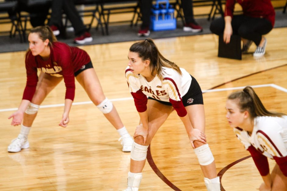 Eagles Lose Second Straight in Five-Set Thriller