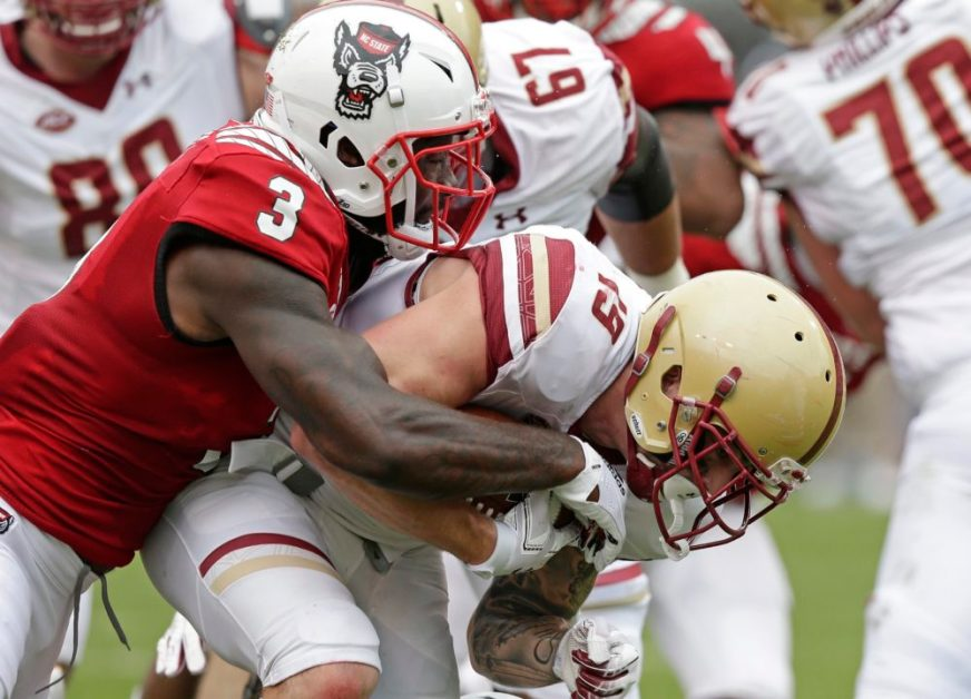 Notebook: Poor Execution Early Dooms BC in Loss to Wolfpack