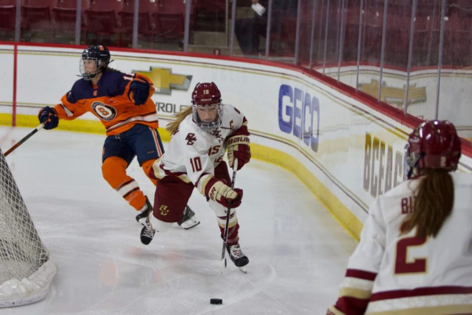 Balanced Scoring Paces BC to Convincing Home Opener Win