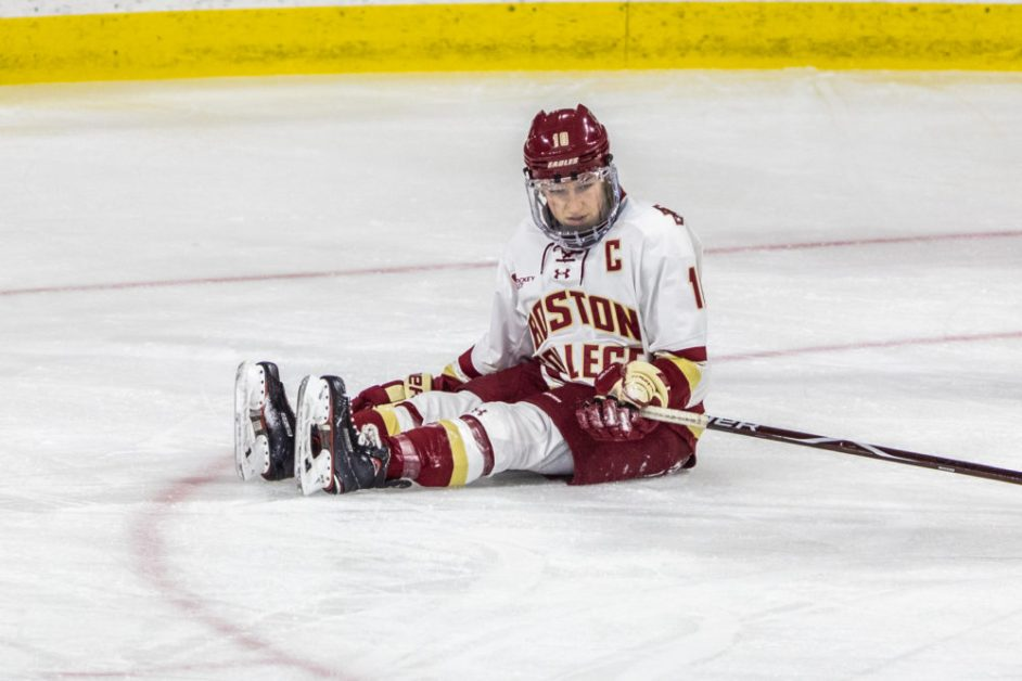 BC Concede Equalizer in Final Minutes, Fall to Northeastern in OT