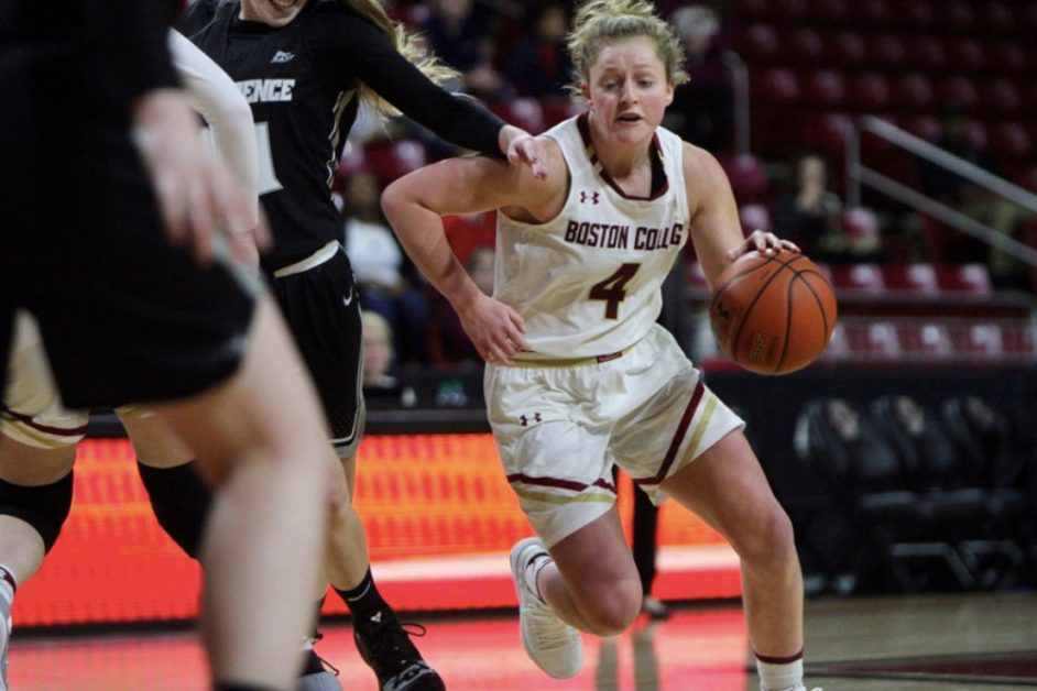 Providence Sends Cold-Shooting Eagles to First Loss