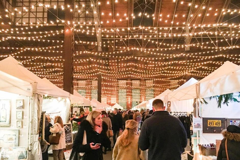 When Christmas Comes to Boston, Craft Fairs Flourish