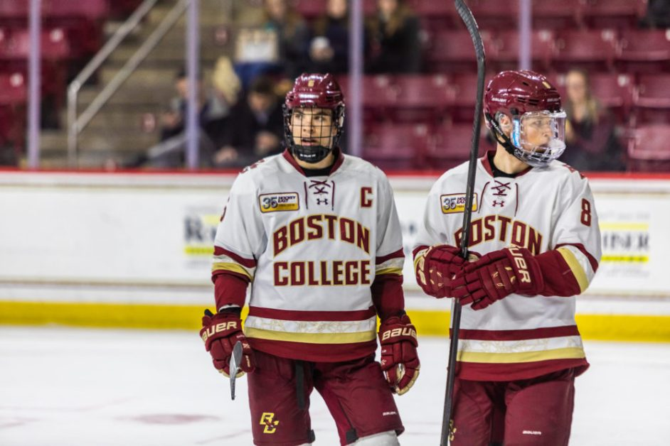 Sun Devils Strike for Four Third-Period Goals in Comeback Win Over BC