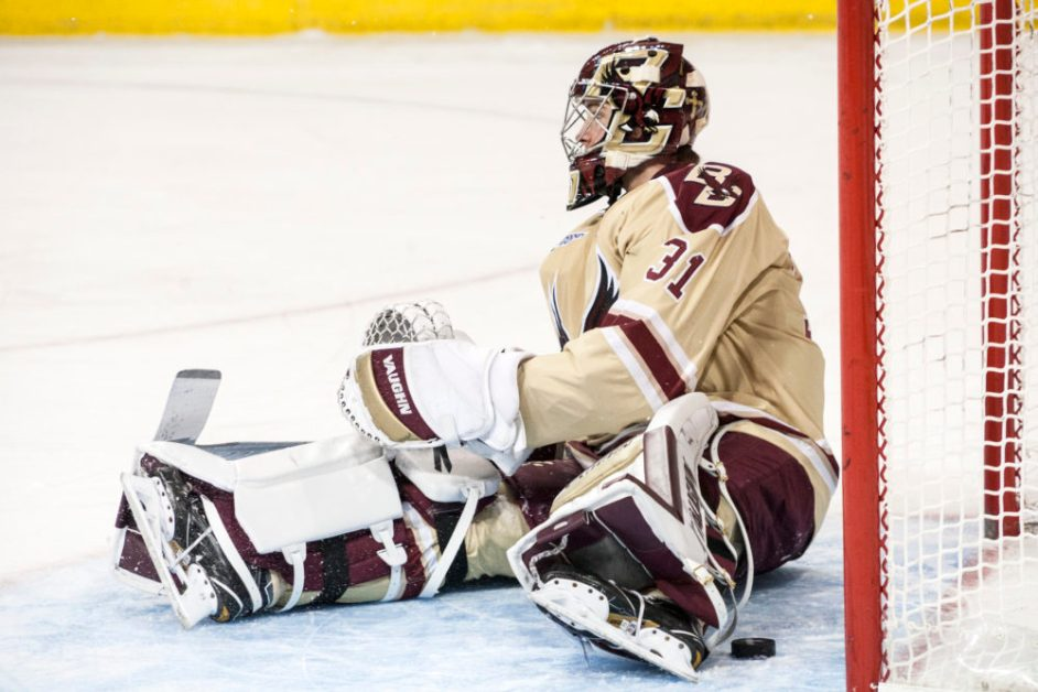 BC Dealt Shutout Loss by Notre Dame in Return From Holiday Break
