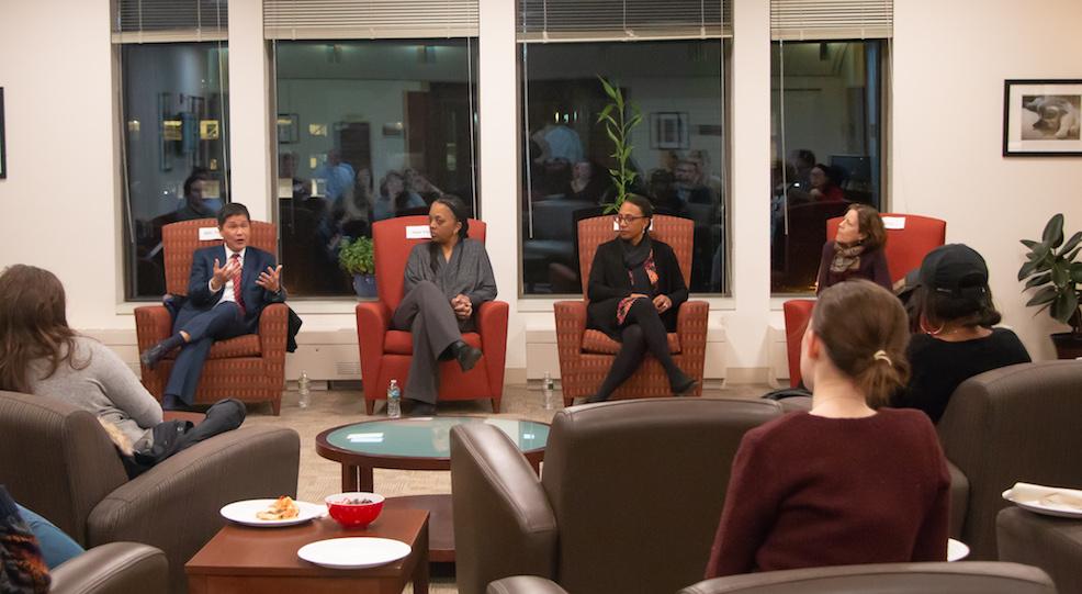 Administrators Detail Hiring Process at Student Forum