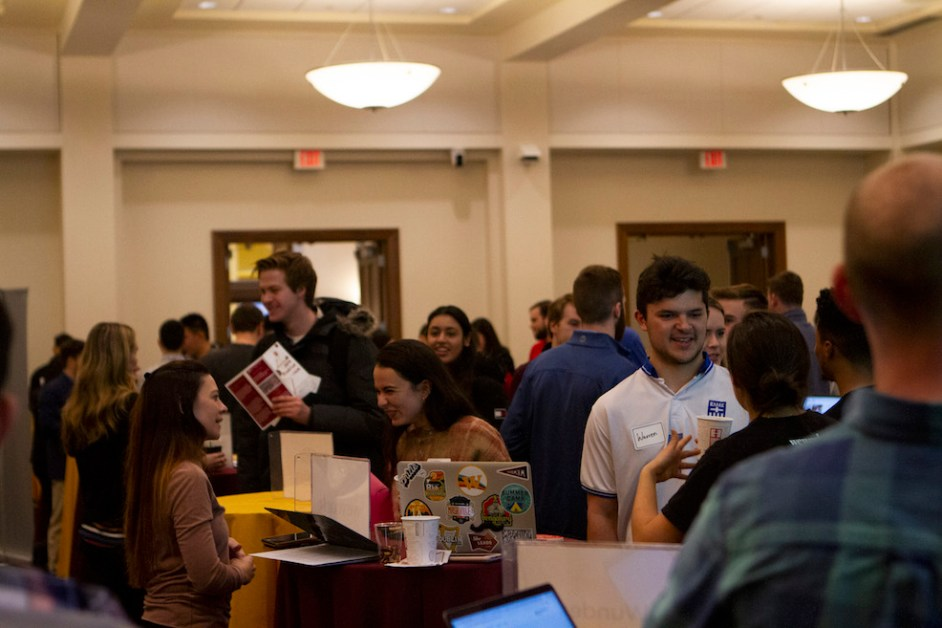 Students Explore Startup Opportunities at Annual Fair