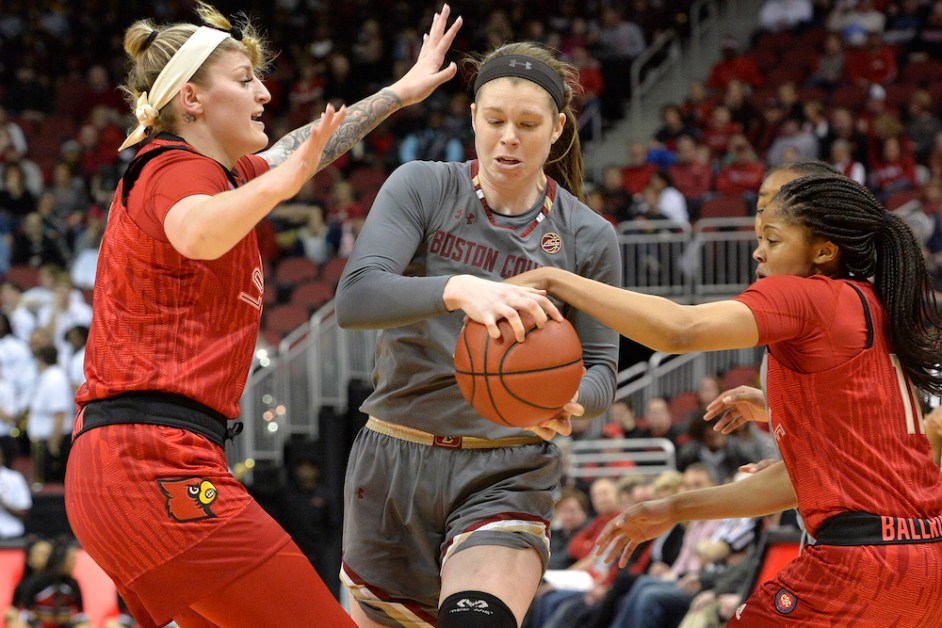 No. 4 Louisville Throttles BC in 36-Point Blowout