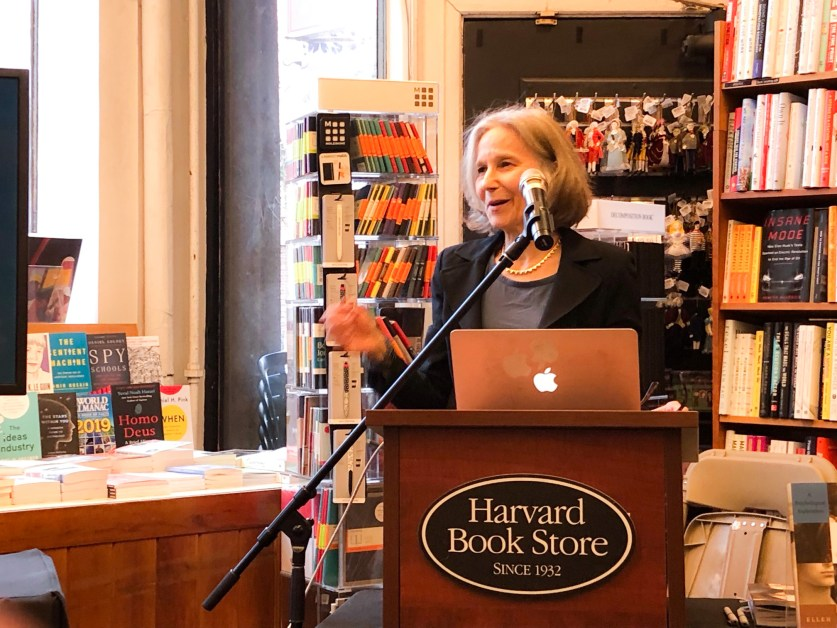 BC's Winner Speaks on Art and Psychology at Harvard Bookstore