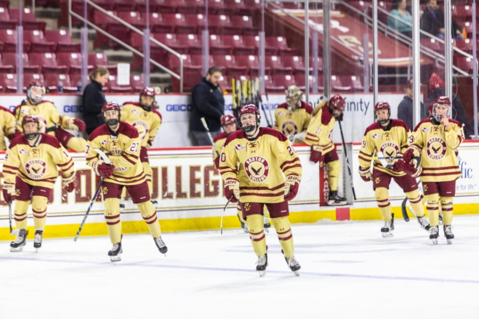 For First Time in Seven Years, Eagles Falter in First Round of Beanpot