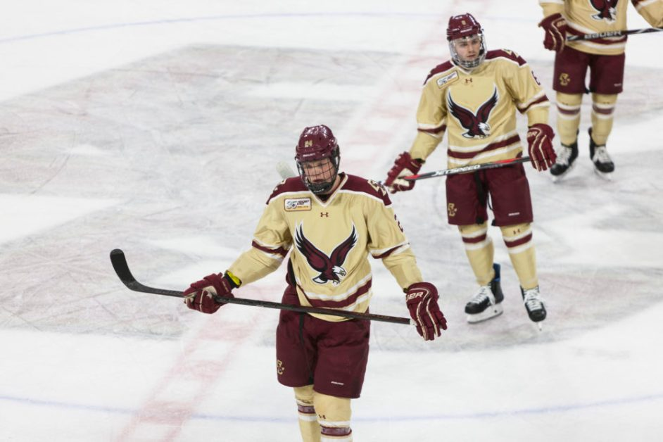 After Two Off Years, Eagles Desperately Need Success in Beanpot
