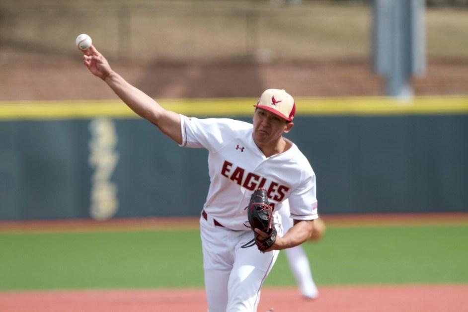 Mason Pelio's Strong Start Leads Eagles Past Clemson
