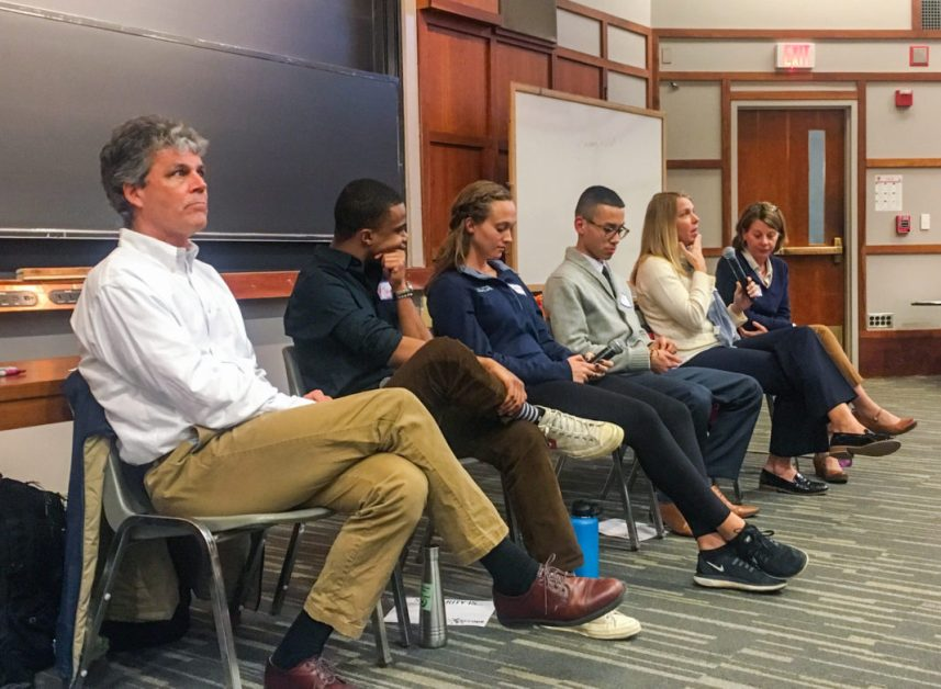 'Solidarity at BC' Panelists Define Service