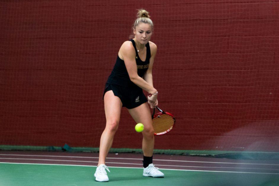 Women's Tennis Falls to Georgia Tech to End Weekend