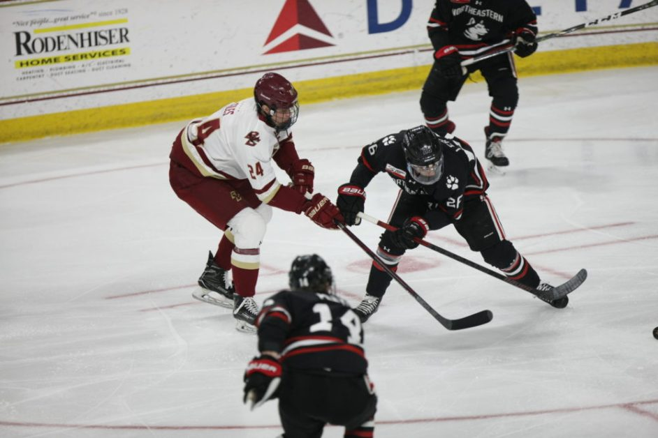 Fitzgerald Sparks Eagles to Senior Night Win Over No. 9 Northeastern