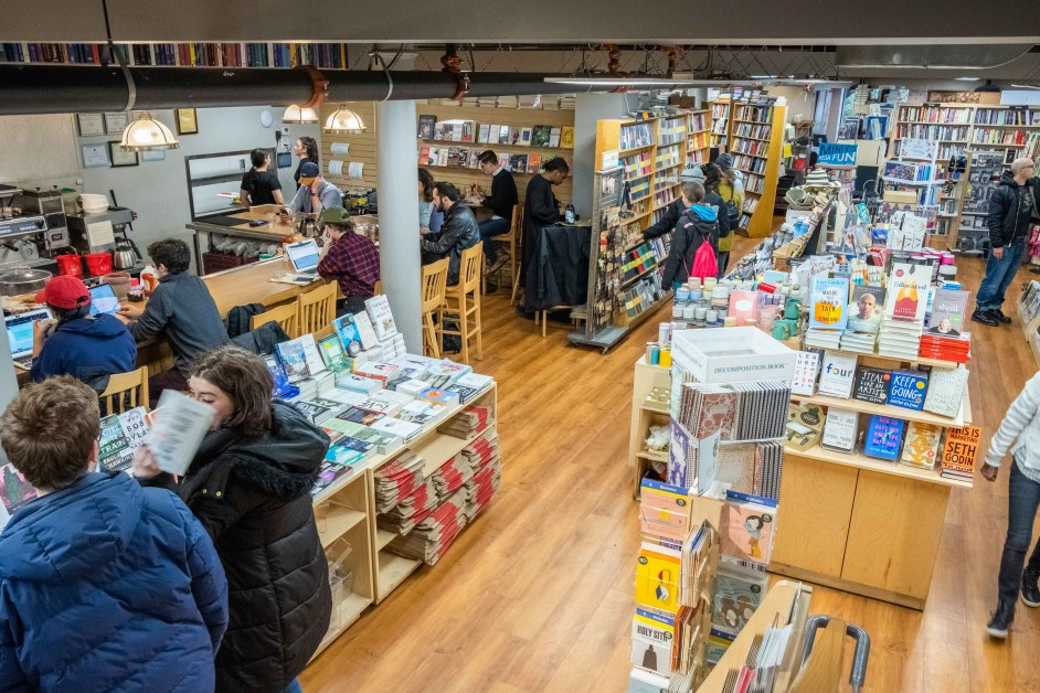 It's 'The' Trident: Inside Boston's Independent Bookstore and Cafe