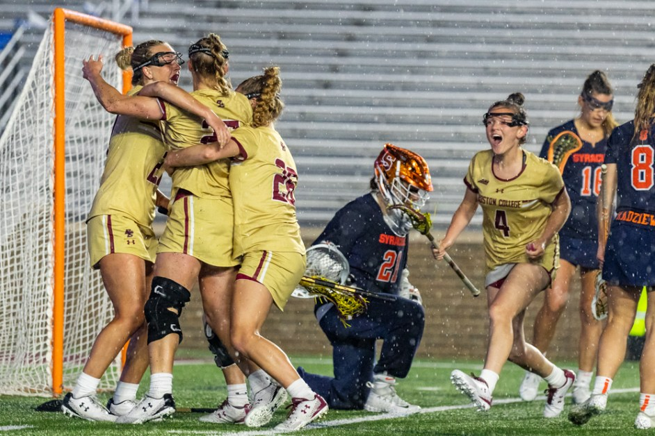 Eagles Use Late Comeback to Fend off Syracuse, Advance to ACC Championship