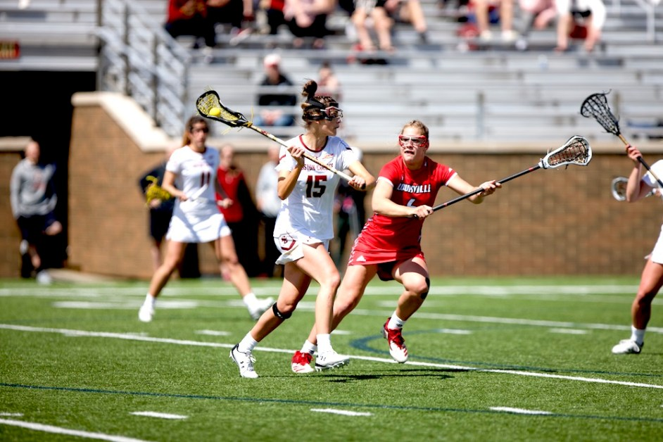 Ngai, Dominant Defense Leads BC Past Louisville in First Round