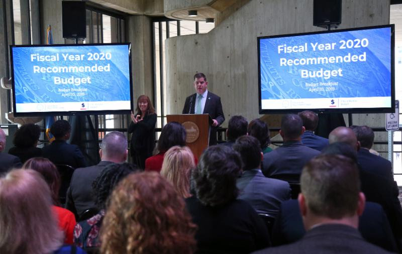 Mayor Walsh Announces Official Budget Proposal for 2020