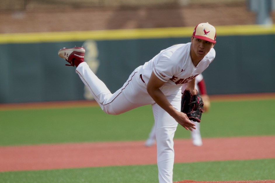 Pelio Hurls Another Quality Start, Eagles Knock Off No. 3 North Carolina State