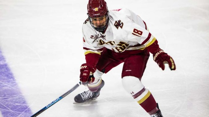 Newhook Named National Rookie of the Year