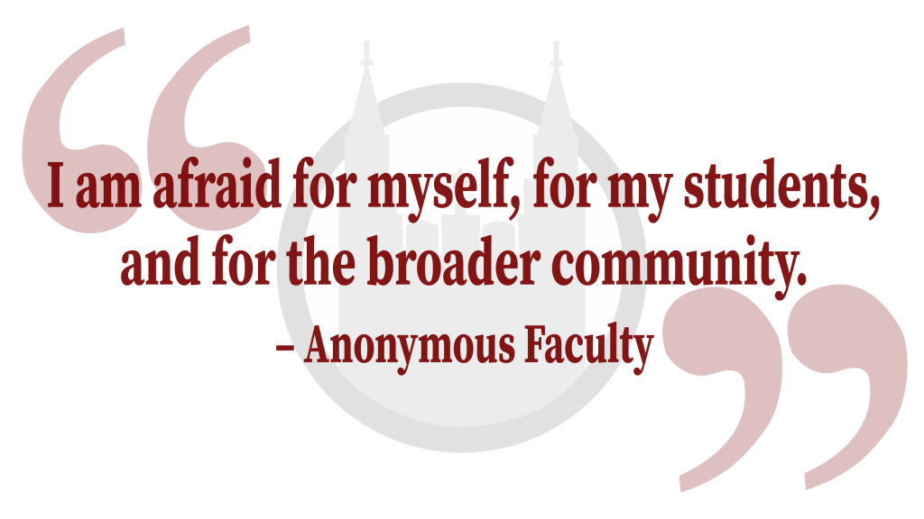 Opinion: As a Faculty Member, I'm Afraid to Return to the Classroom. BC Says I Don't Have a Choice.