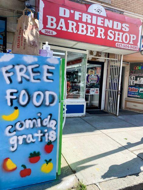 Boston Community Fridge Provides Free Food