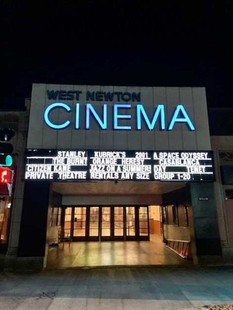 Local Movie Theaters Struggle During Pandemic